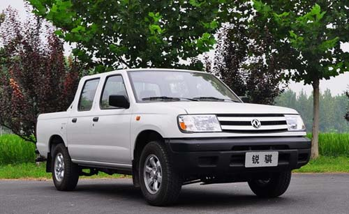 皮卡市场享有盛誉的郑州日产锐骐系列,正式推出汽油版锐骐皮高清图片