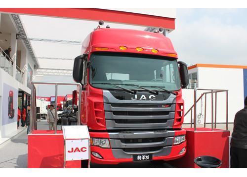 江淮格尔发8*4载货车HFC1314,搭载万国牌发动机-汽车市场网卡车频高清图片