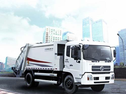 中联重科的zlj5160zys系列压缩式垃圾车