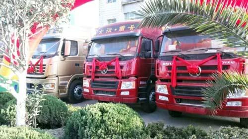 大运重卡产品推广活动主推大运n9,n8系列产品 汽车