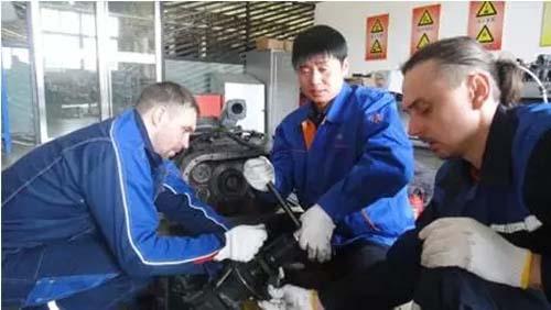 联合卡车:记俄罗斯卡车之星技术工程师培训