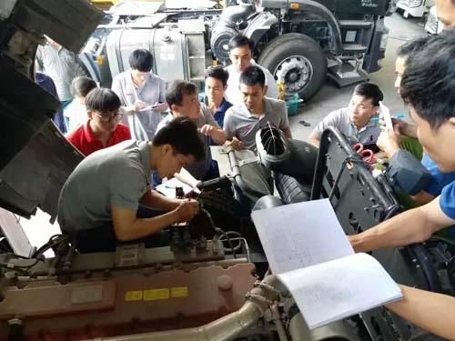 联合卡车在越南顺利举办整车电器培训