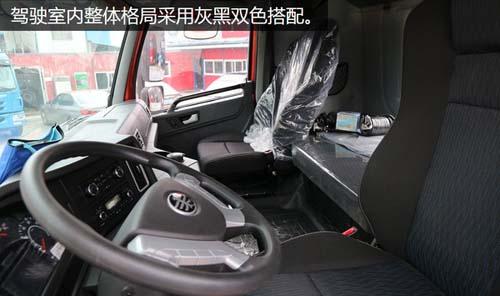 一汽青岛解放天v 6x4牵引车底盘报价30.6万
