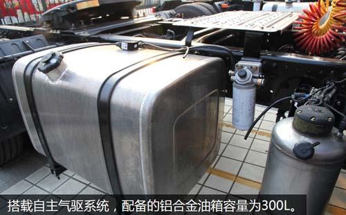 青岛悍v也有220马力牵引车了