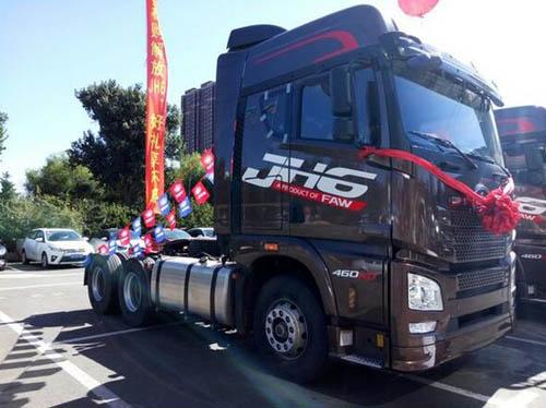 2万元优惠,活动2016年10月14日为止,参加活动的车型为青岛解放jh6重卡