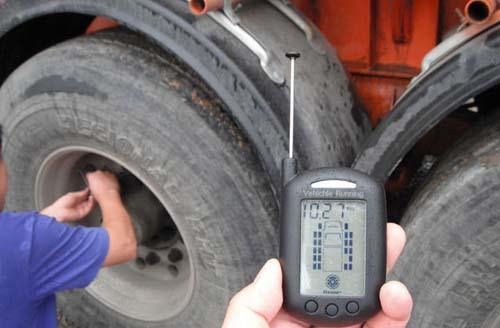 1,注意轮胎气压图片