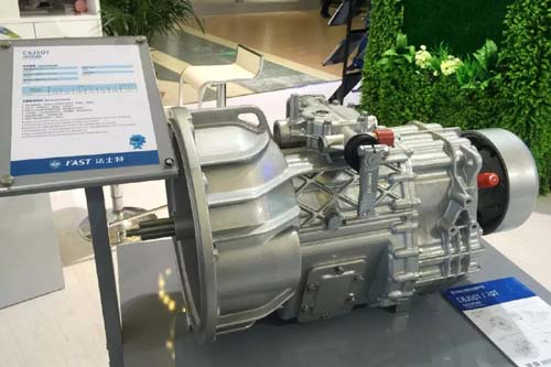 法士特新能源产品强势亮相北京国际道路运输展 汽车